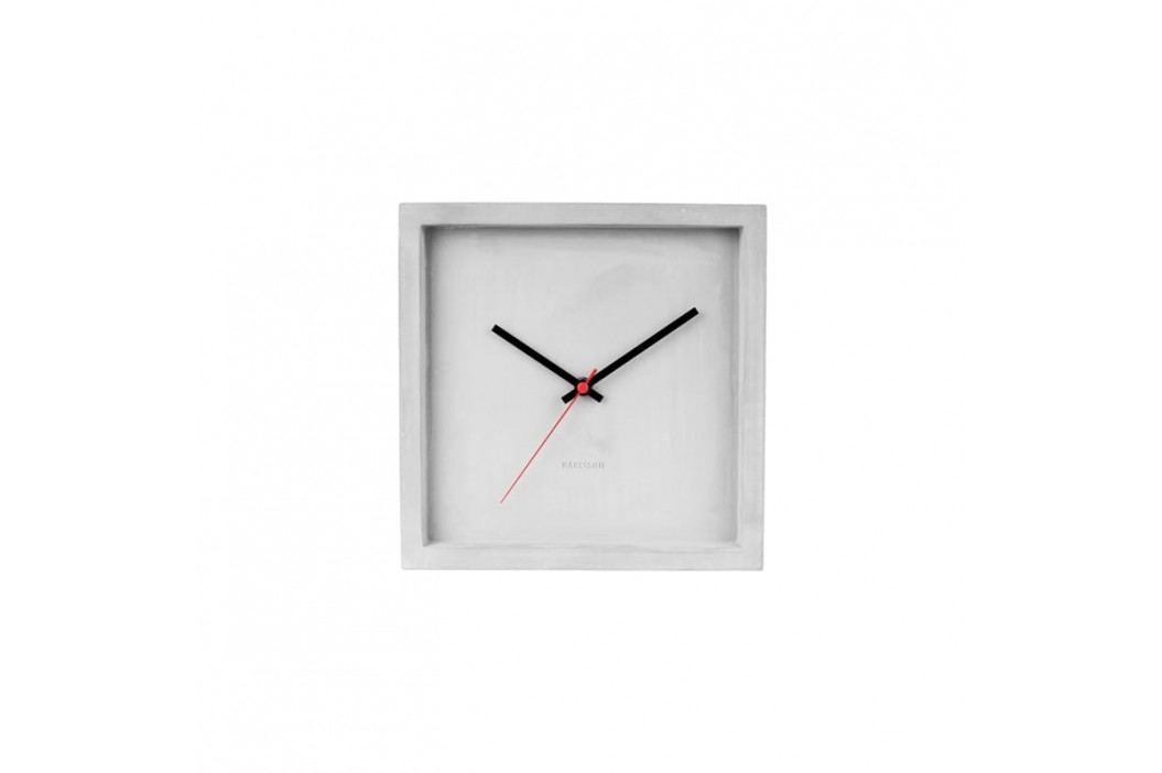 Nástěnné hodiny Corky, 25x25 cm, beton Stfh-KA5688 Time for home+