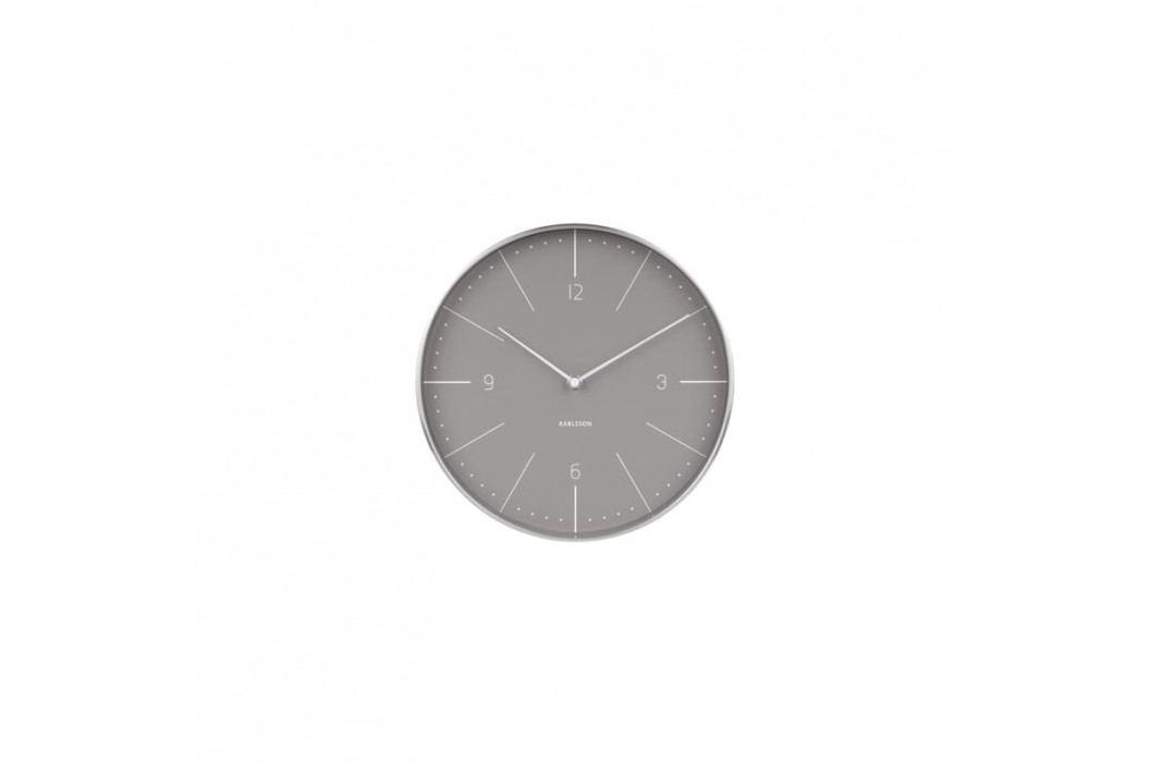 Nástěnné hodiny Percy, 27,5 cm, šedá tfh-KA5682GY Time for home