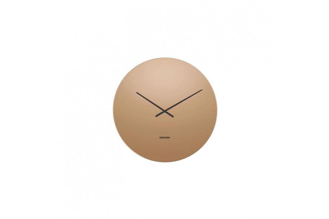 Nástěnné hodiny Circle, 40 cm, sklo, měď tfh-KA5668CO Time for home obrázek inspirace