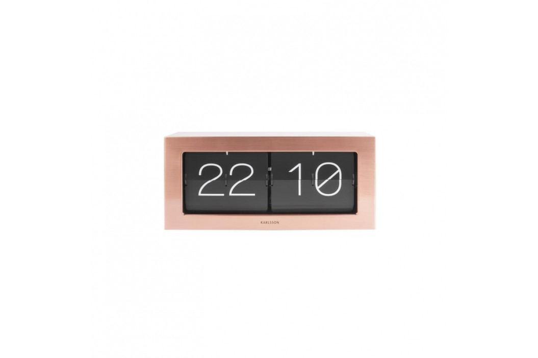 Nástěnné hodiny Carter, měděná tfh-KA5642CO Time for home