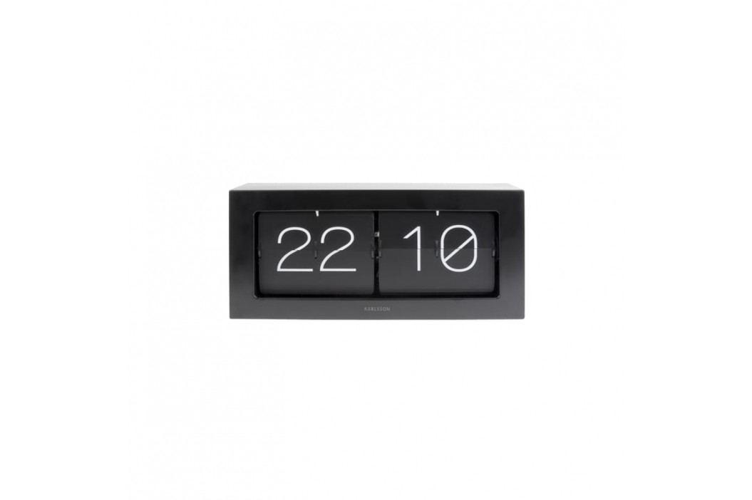 Nástěnné hodiny Carter, černá tfh-KA5642BK Time for home