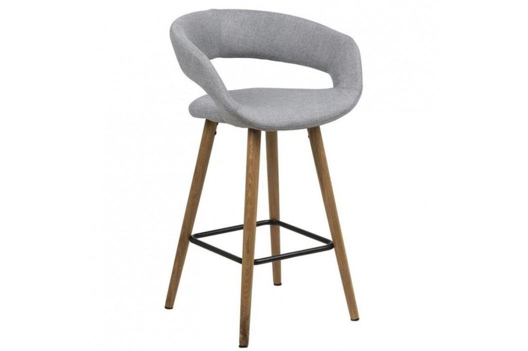 Barová židle Garry, 87 cm, světle šedá SCHDN0000066265 SCANDI obrázek inspirace
