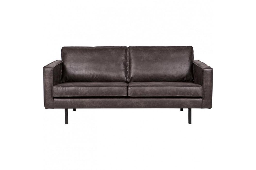 Pohovka Raden 190 cm, černá regenerovaná kůže dee:378609-Z Hoorns obrázek inspirace