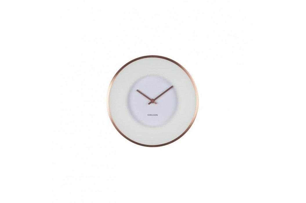 Nástěnné hodiny Salem, 30 cm, bílá/měď Stfh-KA5614 Time for home+