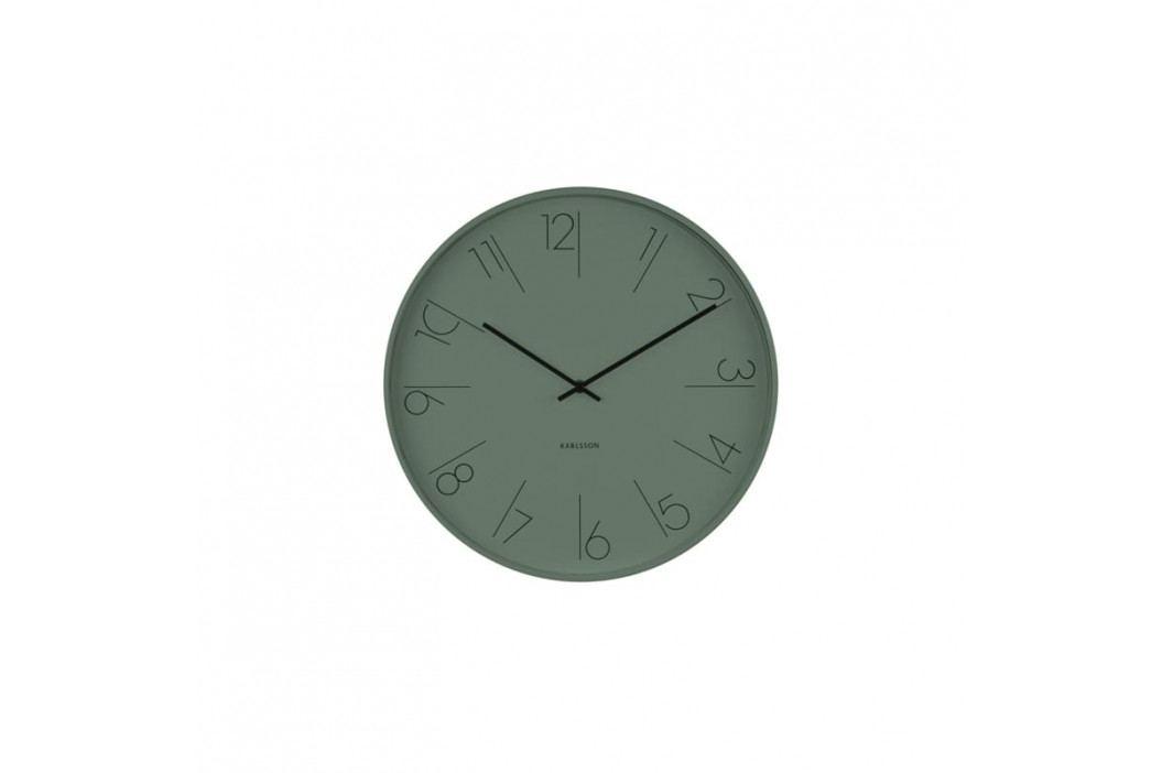 Nástěnné hodiny Mana, 40 cm, zelená Stfh-KA5607GR Time for home+