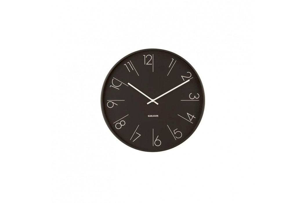 Nástěnné hodiny Mana, 40 cm, černá Stfh-KA5607BK Time for home+