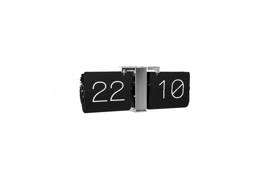 Nástěnné hodiny Carter II, stříbrná tfh-KA5601BK Time for home