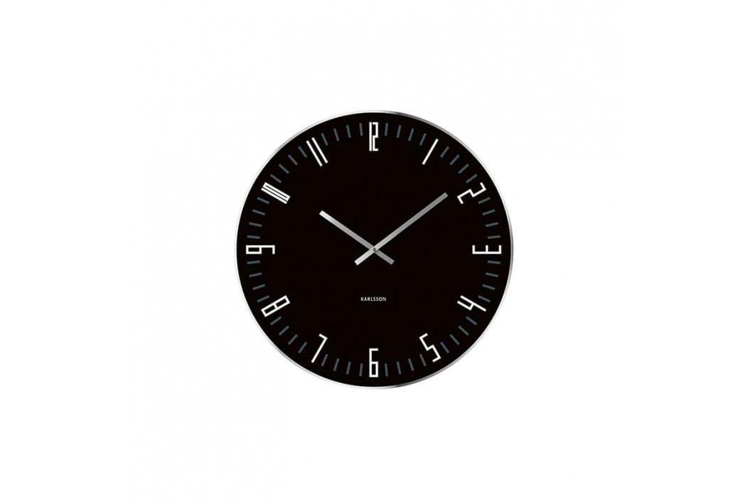 Nástěnné hodiny Vass XL, 60 cm, černá Stfh-KA4912 Time for home+