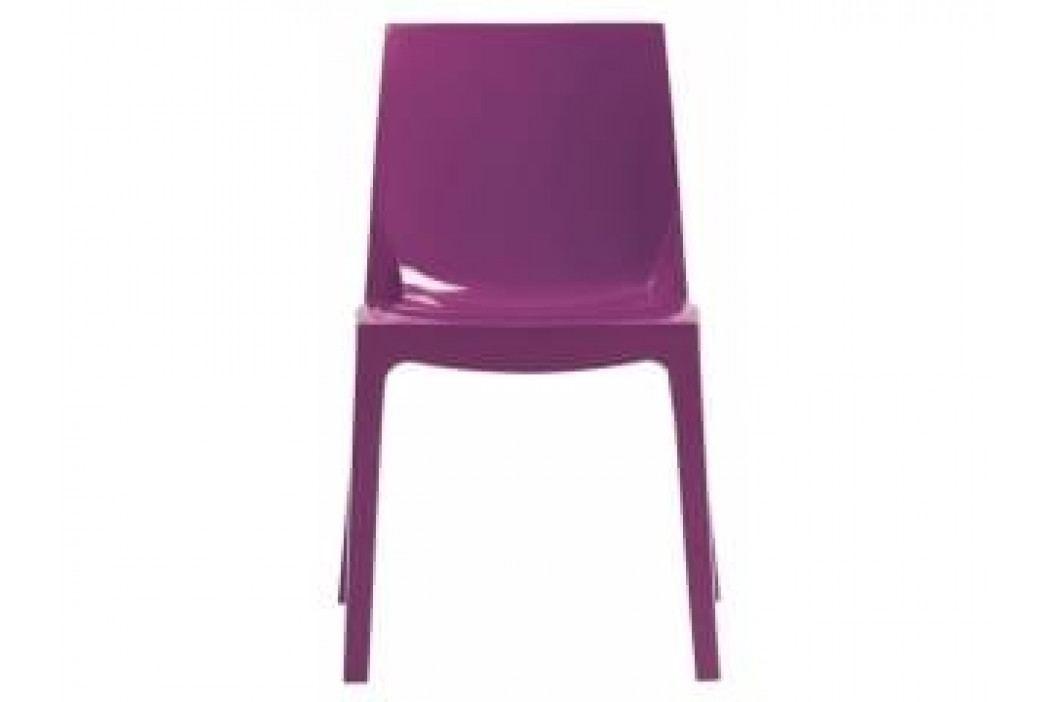 Designová židle Simple Chair (Fialová)  SSC01 Sit & be