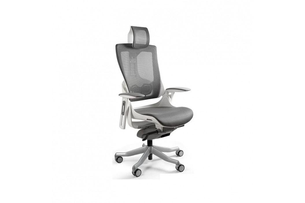 Designová kancelářská židle Master E03, síťovina (Pomerančová)  UN:813 Office360