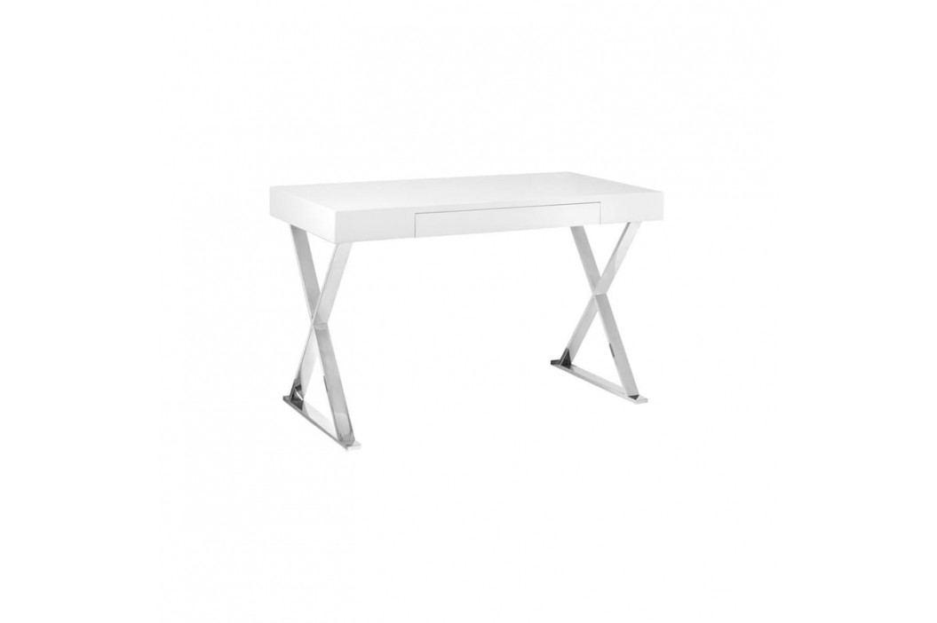 Designový kancelářský stůl Serie X, bílá UN:993 Office360