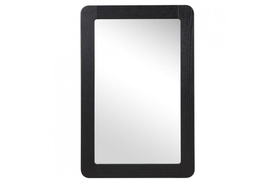 Závěsné zrcadlo Lorra, černá SCHDN0000063973 SCANDI