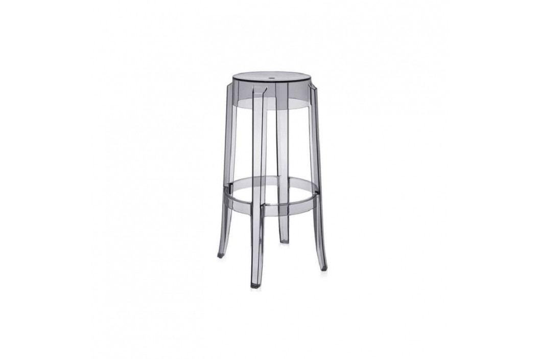 Barová židle Ghost 75, transparentní kouřová 14175 CULTY