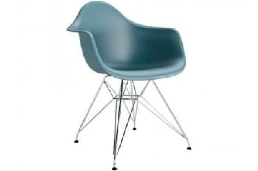 Designová židle DAR, ocean (Chrom)  S48988 CULTY +