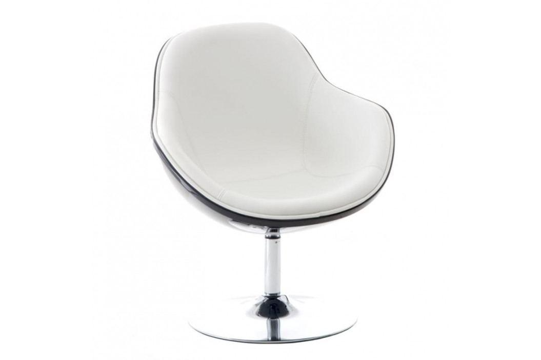 Designové otočné křeslo MARCO, černá/bílá 24448 CULTY obrázek inspirace