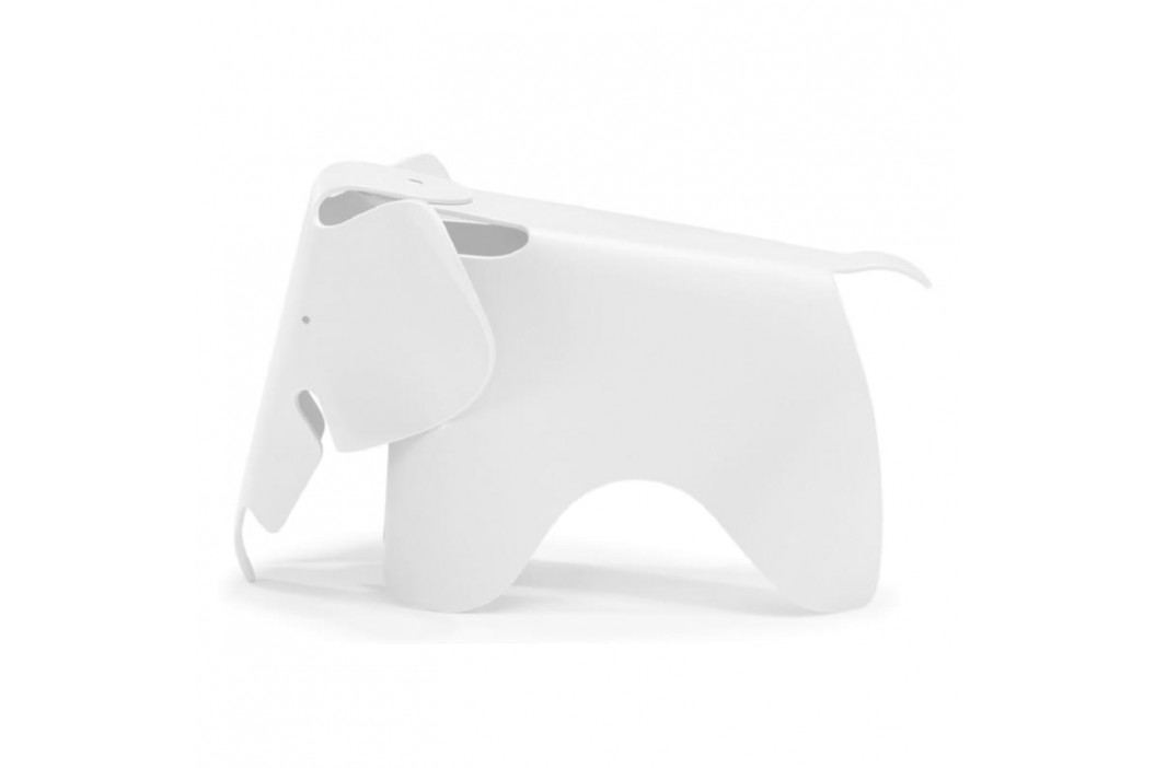Dětská stolička Slon, bílá 12586 CULTY