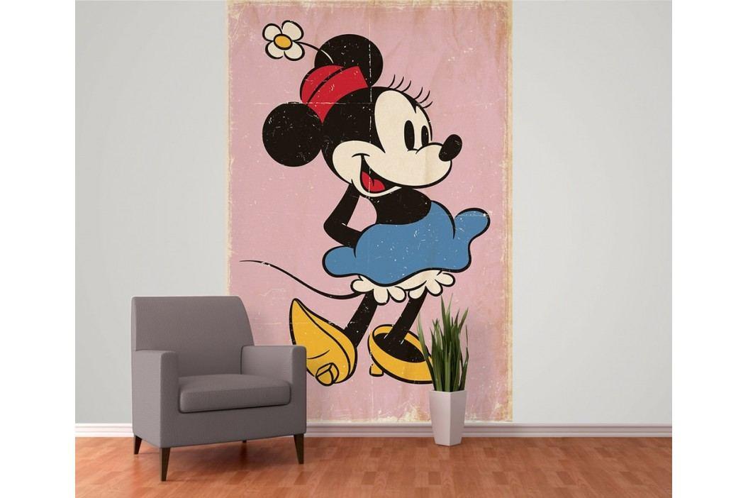1Wall 1Wall fototapeta Minnie Mouse retro 158x232 cm