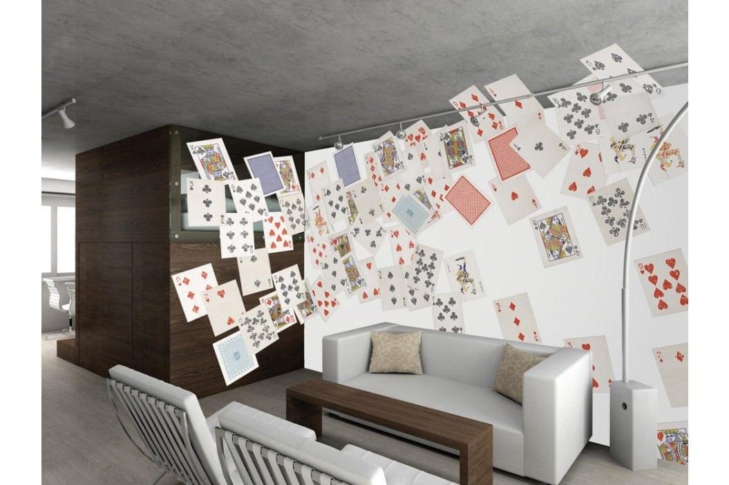 1Wall 1Wall Kreativní koláž 64 dílů 37,5 x 27,5cm hrací karty