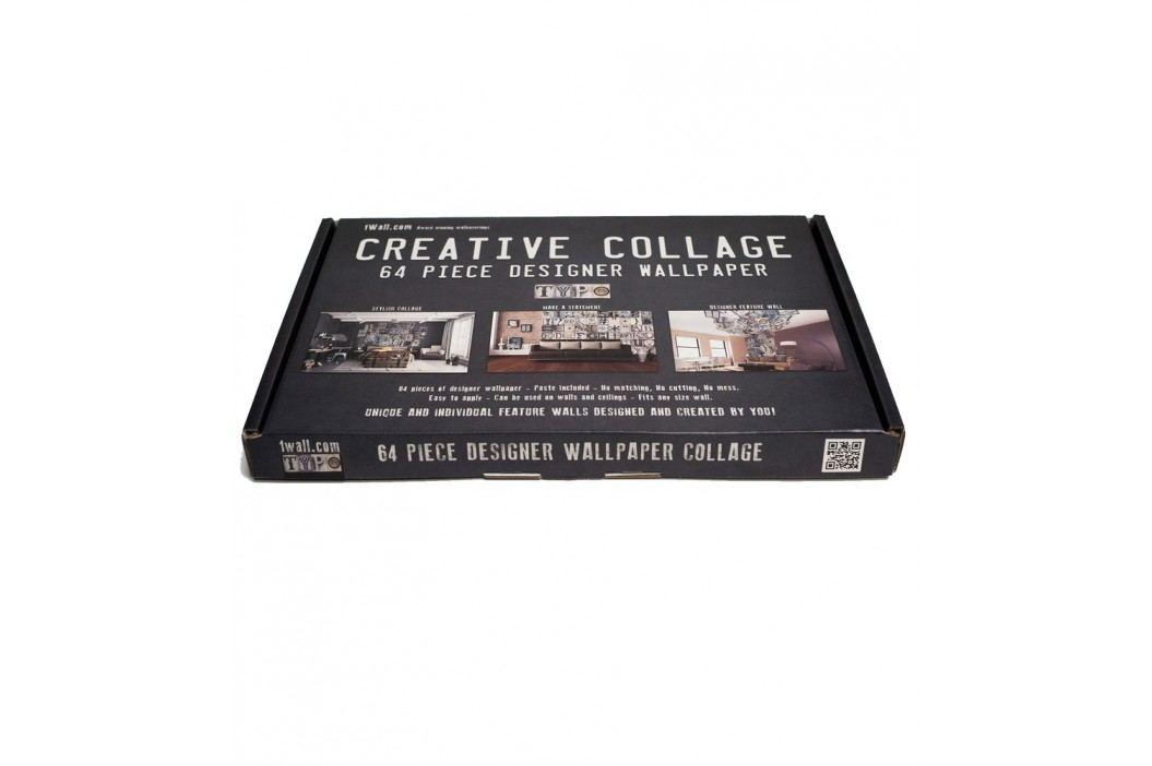 1Wall 1Wall Kreativní koláž 64 dílů 37,5 x 27,5cm Noty