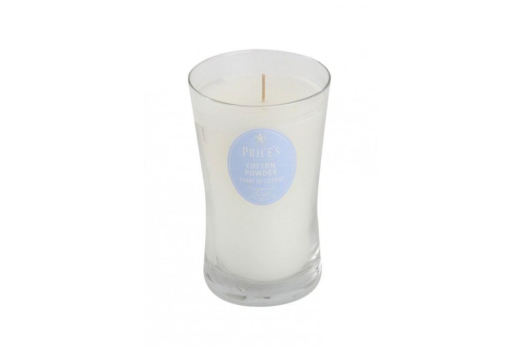 Price´s SIGNATURE vonná svíčka ve skle Nádech hebké bavlny XL 615g
