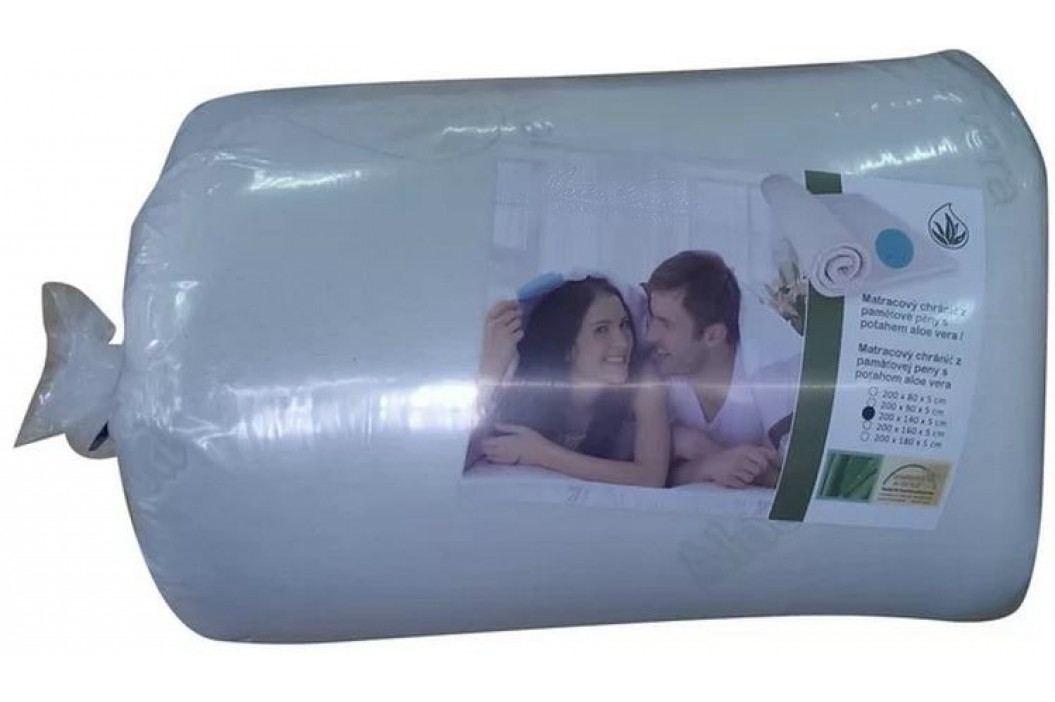VISCOPUR Vrchní matrace (přistýlky) VISCOPUR® MEMO-GEL 5,5 cm - 80x200 cm