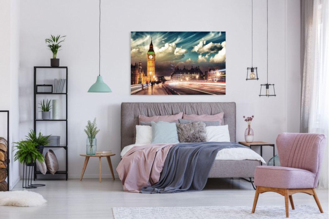 *Obraz na plátně - Londýn (150x100 cm) - InSmile ®