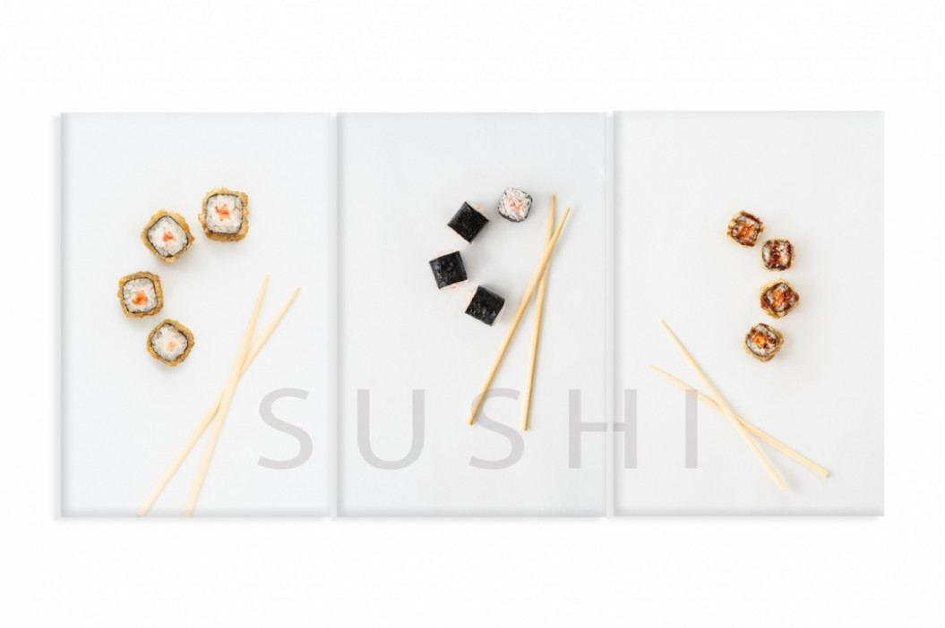 Obraz sushi I (180x80 cm) - InSmile ® obrázek inspirace