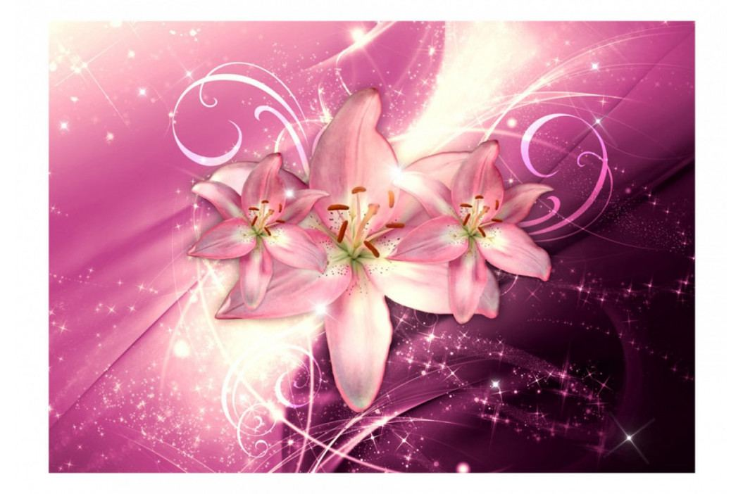*Tapeta mrazivé lilie ll. (300x210 cm) - Murando DeLuxe obrázek inspirace