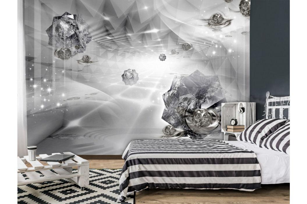 Tapeta diamantové meteority ll. (150x105 cm) - Murando DeLuxe