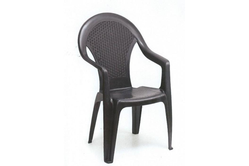 Zahradní plastová židle GIGGLIO-UZN