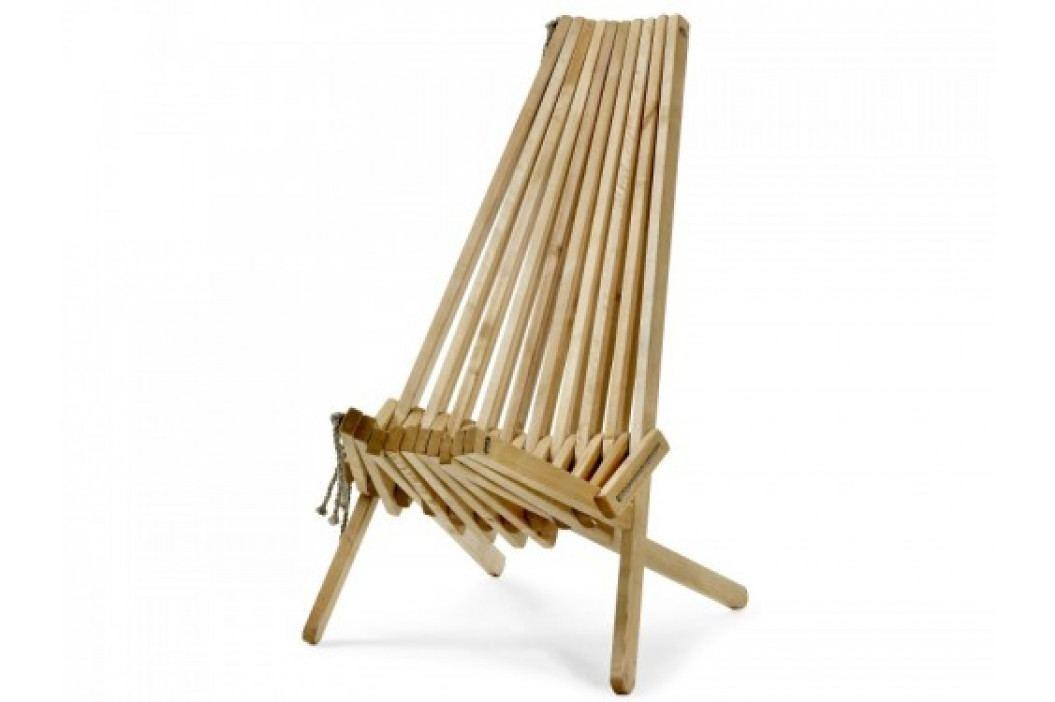 Dřevěné zahradní křeslo RIBBON-GD