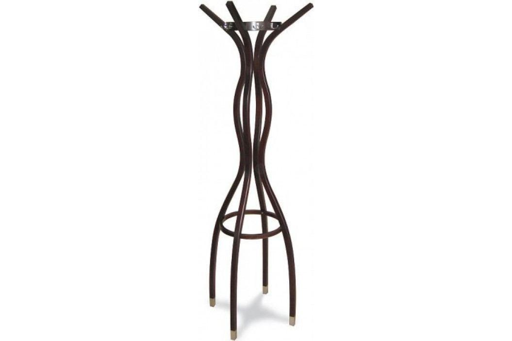 dřevěný stojanový věšák - BK