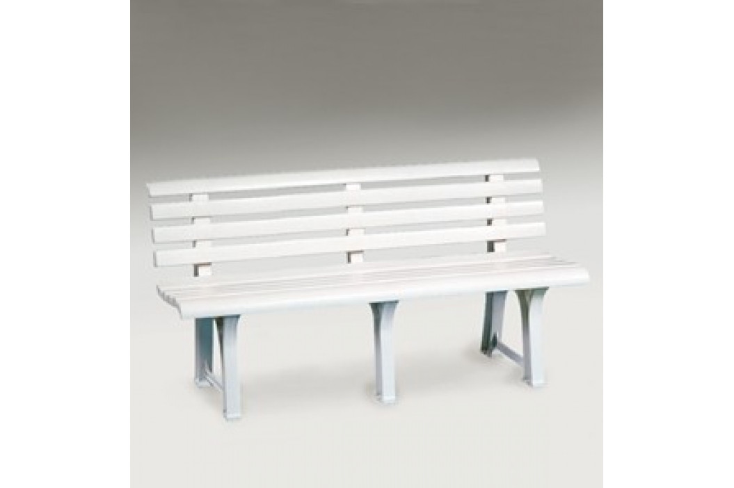 Zahradní plastová lavice - UZN