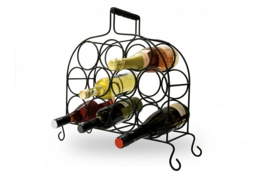 Luxusní kovaný stojan na víno - JL