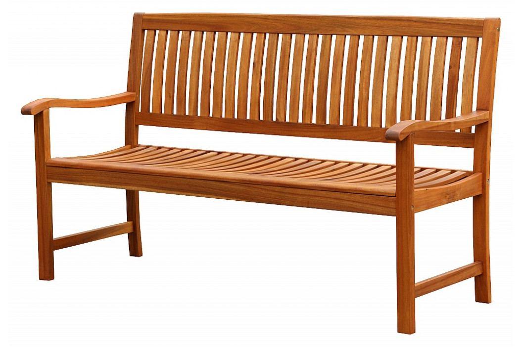 DEOKORK Zahradní lavice pevná třímístná DANIEL