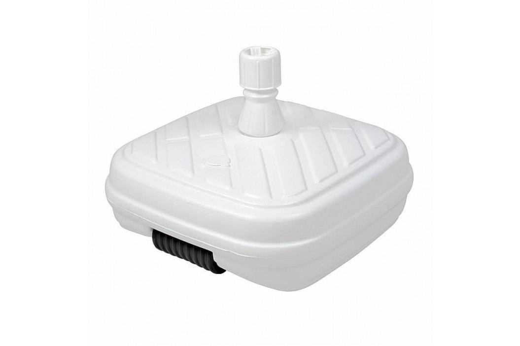 Doppler Plastový plnitelný sokl DESIGN s kolečky 50 kg (bílý)