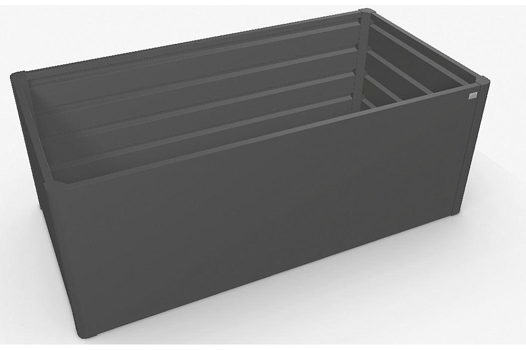 Biohort Zvýšený truhlík na zeleninu 2 x 1 (tmavě šedá metalíza) 2 x 1 (2 krabice)