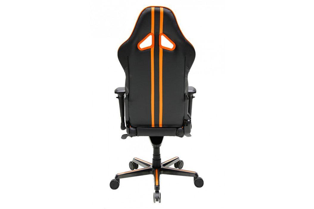 Herní židle DXRACER Racing OH/RV131/NO – umělá kůže, černá/žlutá