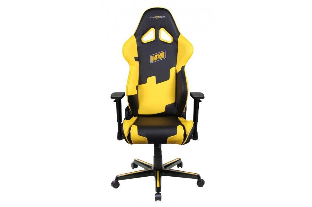 Herní židle DXRACER Racing OH/RZ21/NY/NAVI – umělá kůže, edice NAVI