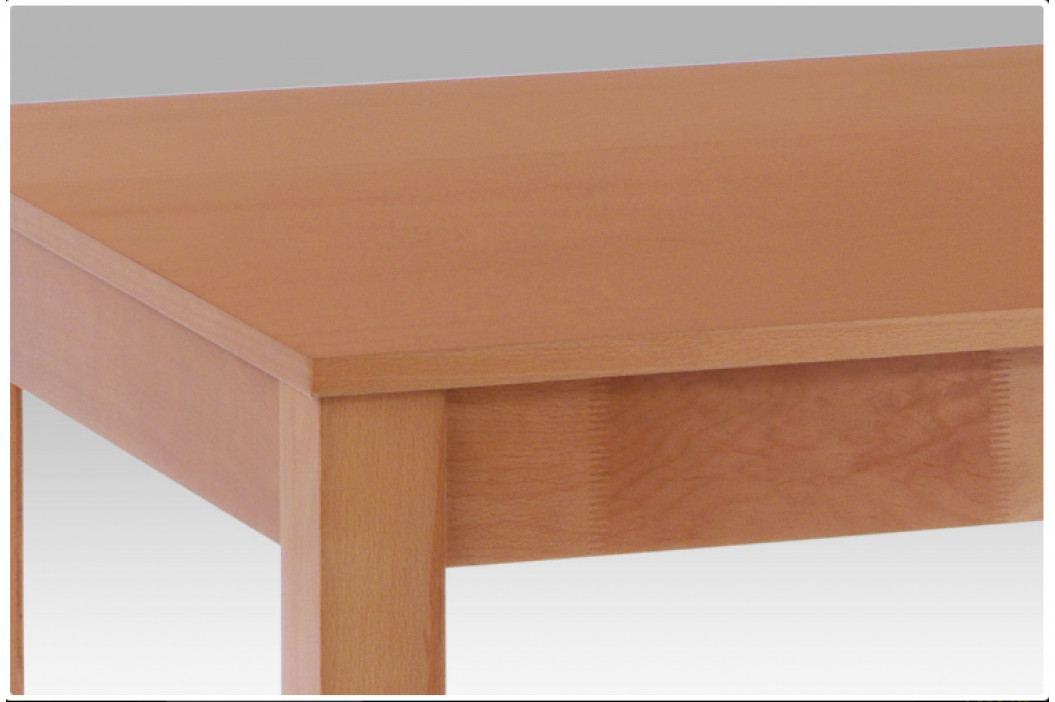 Jídelní rozkládací stůl BLOCCO – masiv buk, 120+44×80 cm