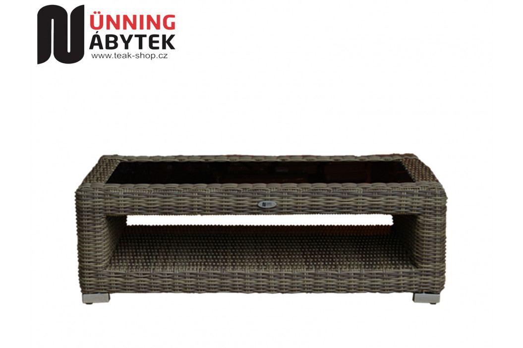 Umělý ratan zahradní stolek Marina Luxury
