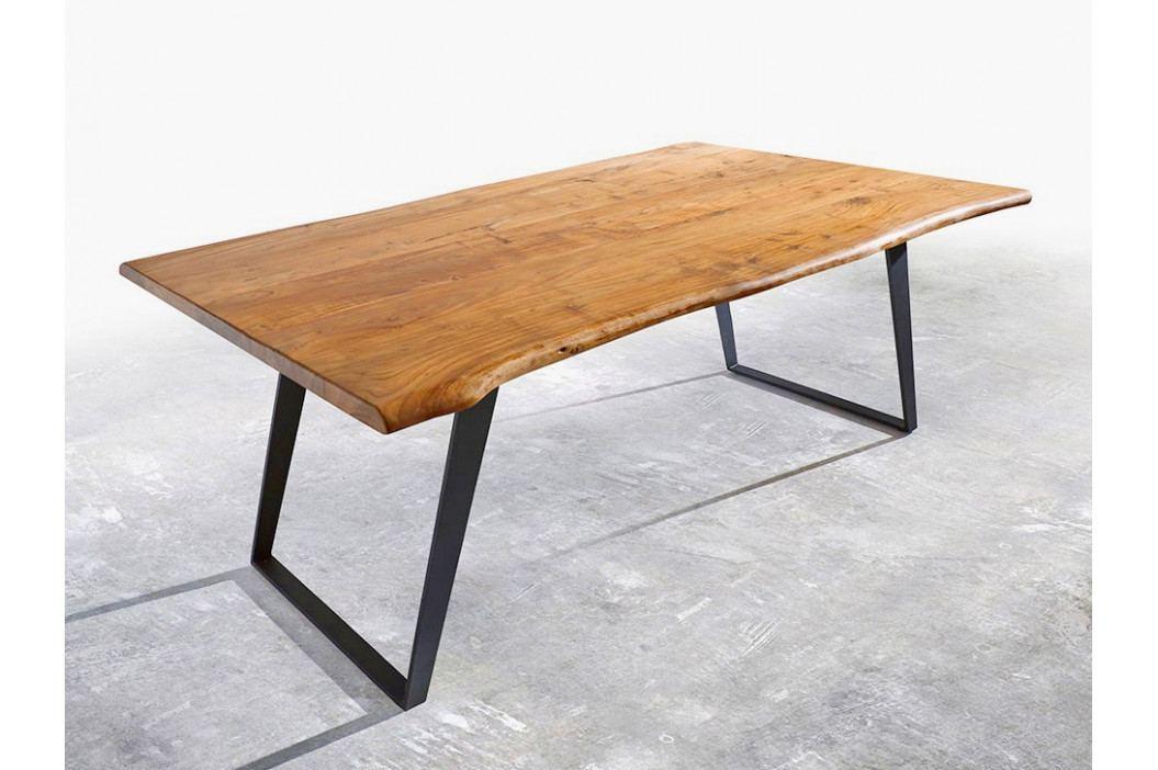 Jídelní stůl Akácie Masiv Natur 200x100 obrázek inspirace