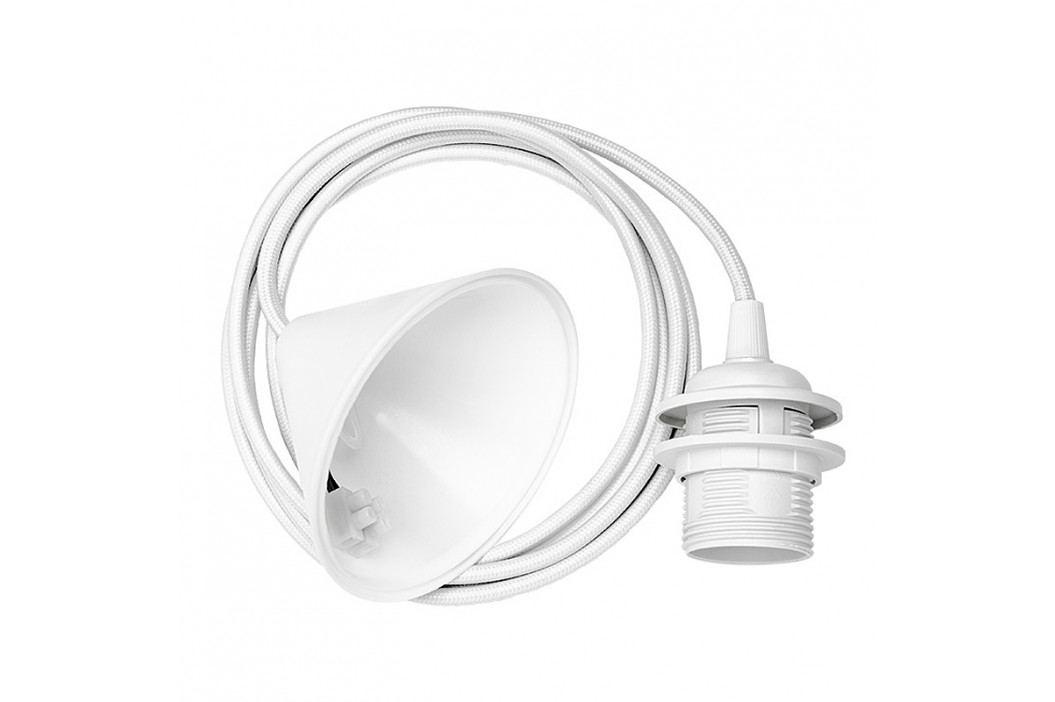 Kabel s objímkou E-27/60 W - Vita Barva: bílá