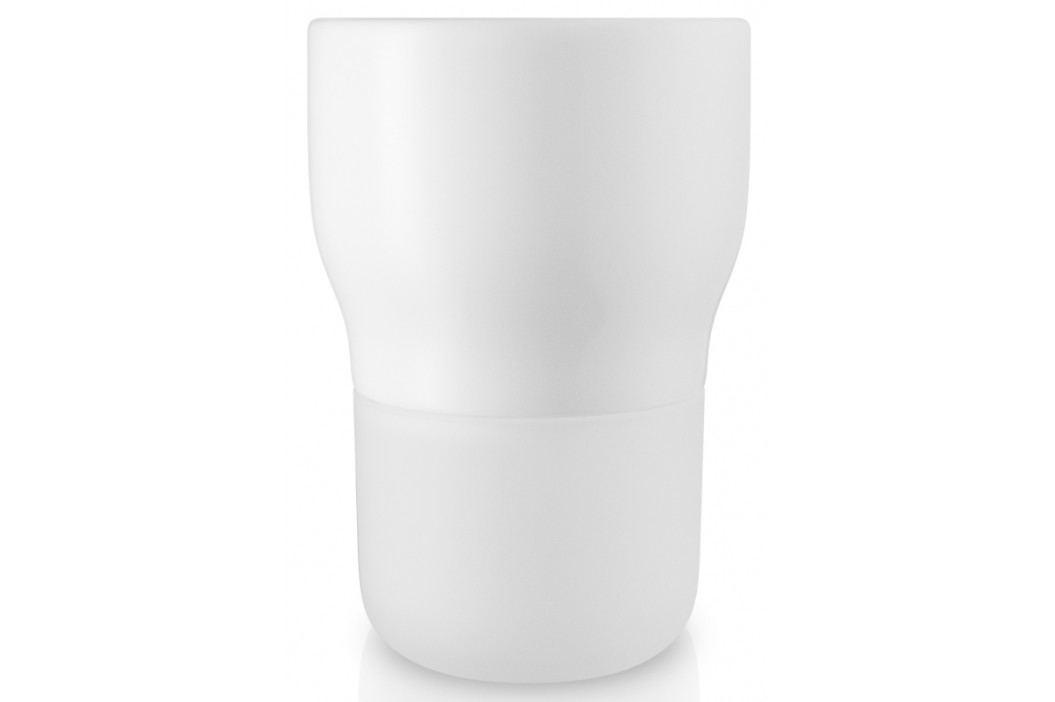 Samozavlažovací květináč křídově bílý v.15cm, eva solo