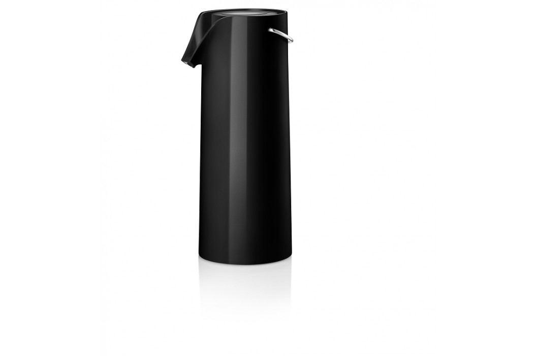 Termoska s vakuovou pumpičkou, černá, Eva Solo