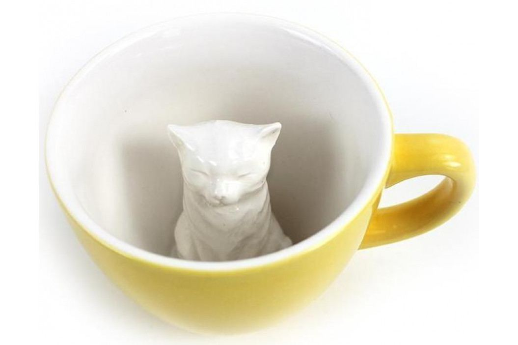 Hrnek KOČKA 325 ml 2 barvy - Creature Cups Barva: tmavě šedá
