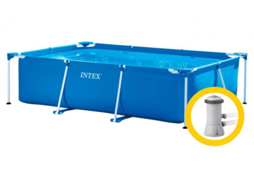 Intex Frame Family 3 x 2 x 0,75 m s kartušovou filtrací 28272KF
