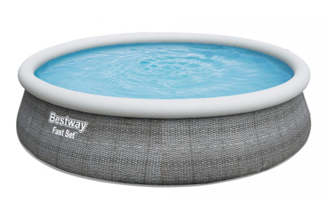 Bazén Bestway Fast Set Ratan 4,57 x 1,07 m bez filtrace