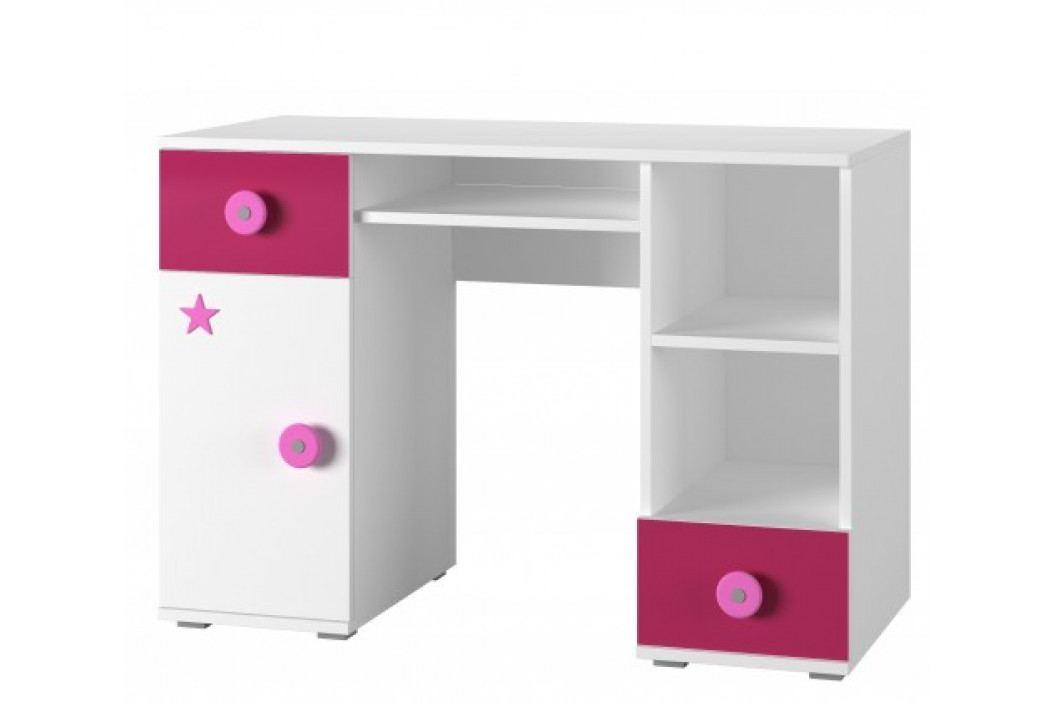Simba 13(korpus bílá/front bílá a růžová)