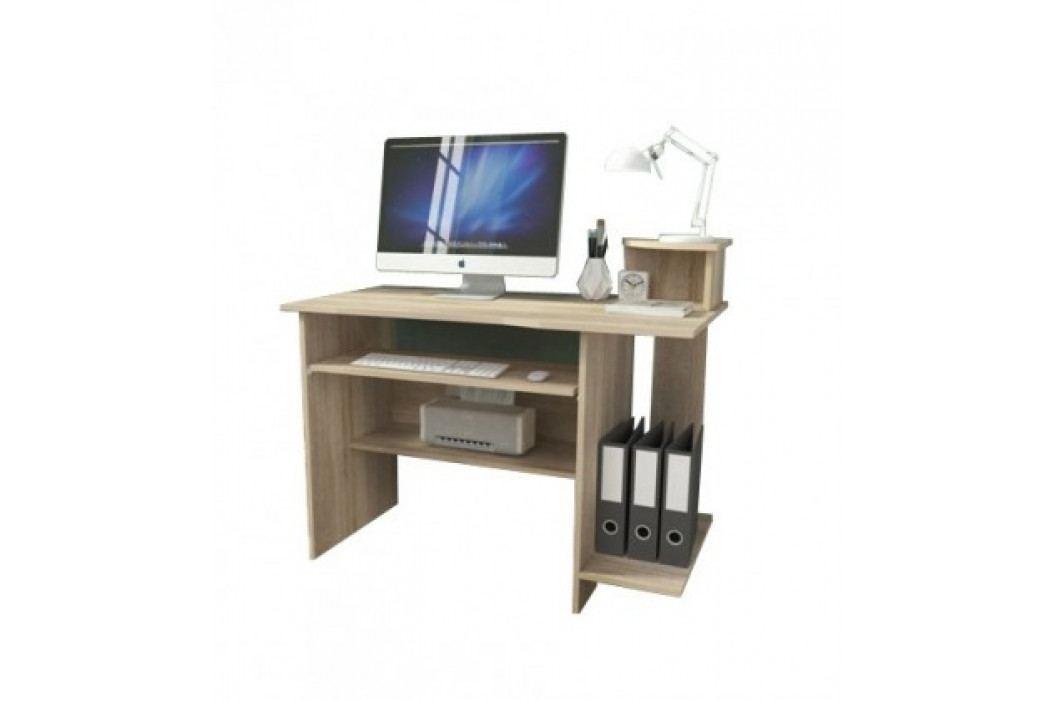 Kancelářský stůl P5 (dub sonoma) obrázek inspirace